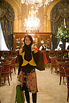 Damasia Lemos, personal shopper at the Alvear Palace Hotel