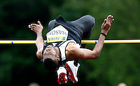 Photo: Richard Lane/Richard Lane Photography..Aviva World Trials & UK Championships athletics. 11/07/2009. Germaine Mason in the men's high jump.