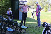 Albane Valenzuela (SUI)(AM) under the chairs with her drive at the 5th green during Thursday's Round 1 of The Evian Championship 2018, held at the Evian Resort Golf Club, Evian-les-Bains, France. 13th September 2018.<br /> Picture: Eoin Clarke | Golffile<br /> <br /> <br /> All photos usage must carry mandatory copyright credit (&copy; Golffile | Eoin Clarke)