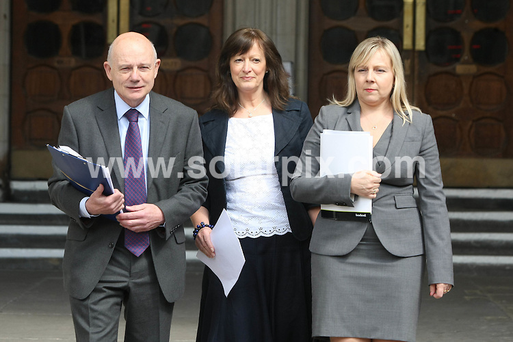 **ALL ROUND PICTURES FROM SOLARPIX.COM**                                             **WORLDWIDE SYNDICATION RIGHTS**                                                                                  Caption:  The former head of Haringey children's services Sharon Shoesmith has won her Court of Appeal battle over her sacking following the Baby P tragedy.She was now in line for a compensation payout of up to £1m after she was unfairly sacked by then former children's secretary Ed Balls.                                                                              This pic: Sharon Shoesmith with her legal team                                                                                             JOB REF:   13445     EBR       DATE: 27.05.2011                                                           **MUST CREDIT SOLARPIX.COM OR DOUBLE FEE WILL BE CHARGED**                                                                      **MUST AGREE FEE BEFORE ONLINE USAGE**                               **CALL US ON: +34 952 811 768 or LOW RATE FROM UK 0844 617 7637**