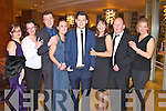Pictured at Kerry Fashion Weekend awards held in the Carlton hotel, Tralee on Saturday evening, were l-r: Albina Horgan, Tina Wallace, Darran Monaghan, Fiona Horgan, Conor Horgan, Narrie Horgan, Brendan Horgan and Grainne Stack (all Ardfert)