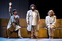 """Concha Delgado, Maria Galiana and Lolita during theater play """"La Asamblea de las Mujeres"""" at Teatro La Latina in Madrid. August 23 2016. (ALTERPHOTOS/Borja B.Hojas) /NORTEPHOTO.COM"""