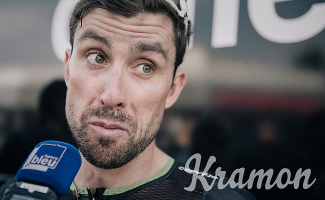 Bernhard 'Bernie' Eisel (AUT/Dimension Data) interviewed post-race<br /> <br /> 104th Tour de France 2017<br /> Stage 19 - Embrun &rsaquo; Salon-de-Provence (220km)