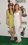 "UNIVERSAL CITY, CA. - May 16: Bella Thorne and Rachel G. Fox arrive at the ""Shrek Forever After"" Los Angeles Premiere at Gibson Amphitheatre on May 16, 2010 in Universal City, California."