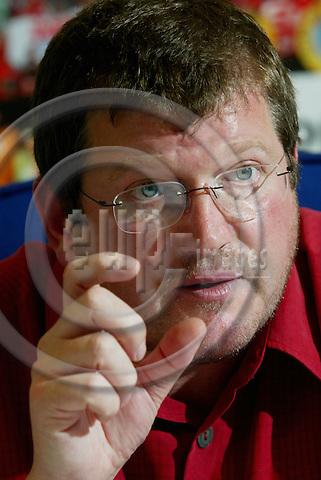 BRUSSELS - BELGIUM - 24 MAY 2005 --Peter SCHERRER, General Secretary of European Metalworkers Federation (EMF).-- PHOTO: ERIK LUNTANG / EUP-IMAGES..