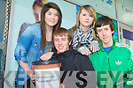 YOUNG SOCIAL INNOVATORS: The transition year students of Mercy Mounthawk secondary school, Tralee who held a 3 minute freeze at the Manor West shopping centre at part of their Car Safety Investigation (CSI) for Young Social Innovators competition on Saturday l-r: Sinead Hurley, Adam Leahy, Laura O'Mahony and James Mannix.