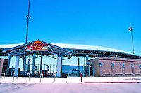 Ballparks: Adelanto, CA. Maverick Stadium, 1991. On U.S. 395, 4000 ft. above sea level.