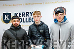 Looking at their options at the Apprenticeship Open Evening at the KETB, Monavalley, Tralee last Wednesday March 4 were, L-R Mohammad Raheen, Leon Gallagher and Darragh Hughes.