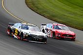 #95: Matt DiBenedetto, Leavine Family Racing, Toyota Camry Toyota Express Maintenance and #6: Ryan Newman, Roush Fenway Racing, Ford Mustang Coca Cola