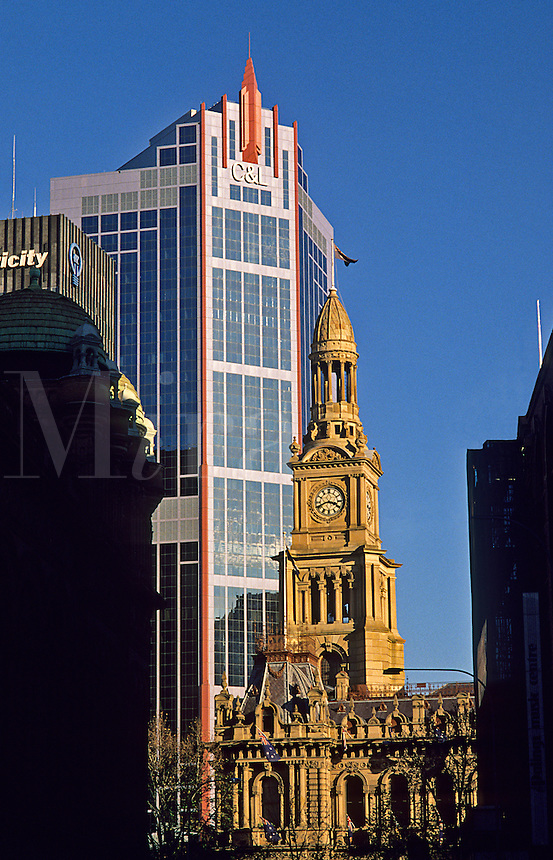 Australia. Sydney Town Hall and CL Building