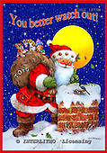 GIORDANO, CHRISTMAS SANTA, SNOWMAN, WEIHNACHTSMÄNNER, SCHNEEMÄNNER, PAPÁ NOEL, MUÑECOS DE NIEVE, paintings+++++,USGI1575M,#X#