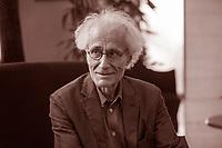 Luciano Canfora è un filologo classico, storico e saggista italiano. È considerato un «profondo conoscitore della cultura classica», al cui studio egli applica «un approccio multidisciplinare». Pordenone, 13 settembre 2017. © Leonardo Cendamo