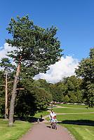 Im Park Kaivopuisto, Helsinki, Finnland