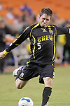 SEP 15  2007:  Danny O'Rourke (5)  of the Crew.  The MLS Kansas City Wizards defeated the visiting Columbus Crew 3-2 at Arrowhead Stadium in Kansas City, Missouri, in a regular season league soccer match.