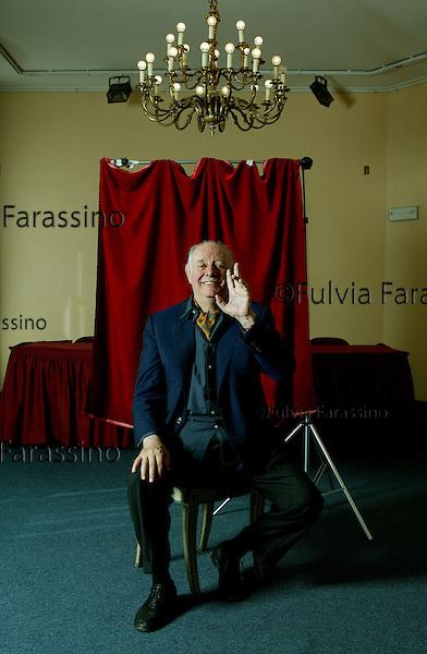 12 settembre 2003.Dario Fo