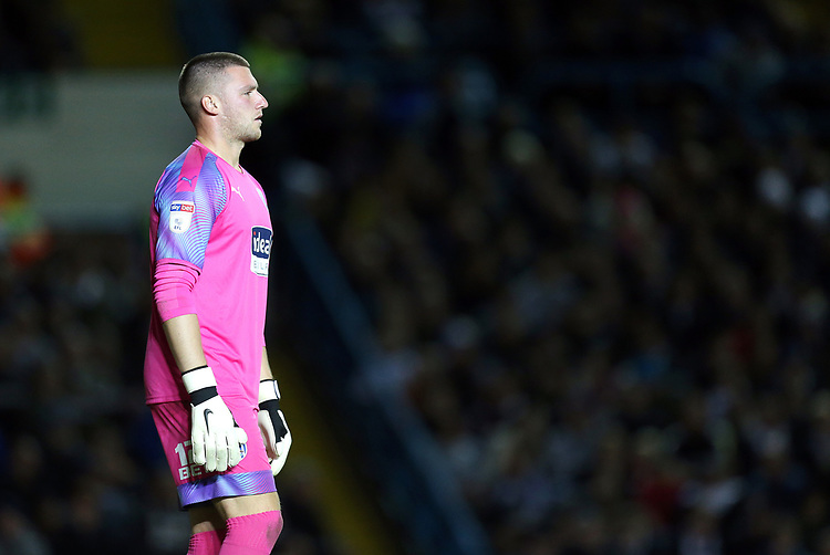 West Bromwich Albion's Sam Johnstone<br /> <br /> Photographer Rich Linley/CameraSport<br /> <br /> The EFL Sky Bet Championship - Tuesday 1st October 2019  - Leeds United v West Bromwich Albion - Elland Road - Leeds<br /> <br /> World Copyright © 2019 CameraSport. All rights reserved. 43 Linden Ave. Countesthorpe. Leicester. England. LE8 5PG - Tel: +44 (0) 116 277 4147 - admin@camerasport.com - www.camerasport.com
