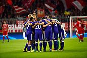 September 12th 2017, Munich, Germany, Champions League football, Bayern Munich versus Anderlecht;  Anderlecht huddle pre-game