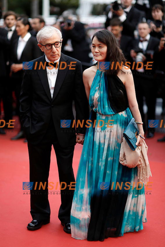 Woody Allen et sa femme<br /> Festival di Cannes 2016 <br /> Foto Panoramic / Insidefoto