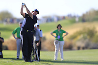 Phil Mickelson (USA) on the 15th fairway during the 1st round of the Waste Management Phoenix Open, TPC Scottsdale, Scottsdale, Arisona, USA. 31/01/2019.<br /> Picture Fran Caffrey / Golffile.ie<br /> <br /> All photo usage must carry mandatory copyright credit (&copy; Golffile | Fran Caffrey)