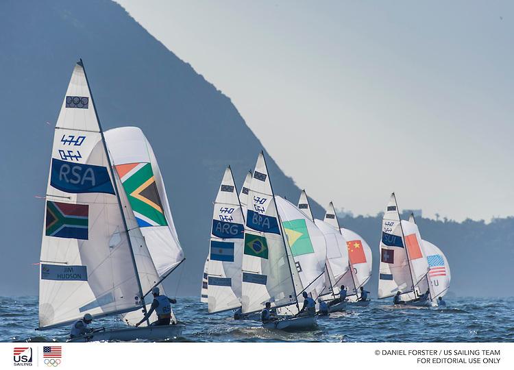 470M downwind<br /> <br /> 2016 Olympic Games <br /> Rio de Janeiro