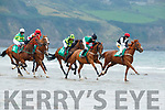 Action  at the Rossbeigh races on Sunday