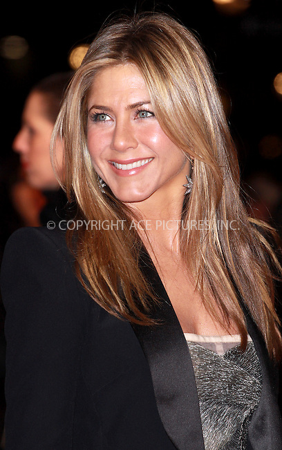 WWW.ACEPIXS.COM . . . . .  ..... . . . . US SALES ONLY . . . . .....March 11 2010, London....Actress Jennifer Aniston at the premiere of 'The Bounty Hunter' on March 11 2010 in London, England......Please byline: FAMOUS-ACE PICTURES... . . . .  ....Ace Pictures, Inc:  ..tel: (212) 243 8787 or (646) 769 0430..e-mail: info@acepixs.com..web: http://www.acepixs.com