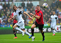Manchester United's Phil Jones on the ball.<br />
