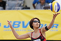 Miwa Asao, MAY 6, 2012 - Beach Volleyball : JBV Tour 2012 Sports Club NAS Open  Women's third place mach at Odaiba Beach, Tokyo, Japan. (Photo by Yusuke Nakanishi/AFLO SPORT) [1090]