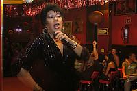 A popular transvestite show in a small club called La Perla in Mexico City's historic center. May 1, 2005