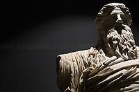 """Dioniso Sardanapalo.<br /> <br /> Rome, 03/11/2019. Vising and documenting Palazzo Massimo part of the Museo Nazionale Romano (National Roman Museum).<br /> «The National Roman Museum was born in 1889 as one of the main centers of historical and artistic culture of the united Italy. In addition to welcoming and exhibiting the works of historical collections passed to the State and the numerous antiquities that emerged from the works of adaptation of Rome to its new role as Capital of the Kingdom of Italy, the Museum was intended to increase the historical and artistic heritage of the city and contribute with it in the most effective way to the increase of culture. About a century after its establishment in the Terme/Baths of Diocletian, the Museum was reorganized into four distinct locations: the Palazzo Massimo, Palazzo Altemps and the Crypta Balbi were added to the Terme/Baths […]» (1.).<br /> «Il Museo Nazionale Romano nasce nel 1889 come uno dei principali centri di cultura storica ed artistica dell'Italia unita. Oltre ad accogliere ed esporre le opere di collezioni storiche passate allo Stato e le numerose antichità che emergevano dai lavori di adeguamento di Roma al suo nuovo ruolo di Capitale del Regno d'Italia, il Museo era destinato ad accrescere il patrimonio storico ed artistico della città e contribuire con esso nel modo più efficace all'incremento della cultura. Circa un secolo dopo la sua istituzione nelle Terme di Diocleziano, il Museo è stato riorganizzato in quattro sedi distinte: alle Terme si sono aggiunti Palazzo Massimo, Palazzo Altemps e la Cryptca Balbi […]» (1.).<br /> This visit was possible thanks to the company of Artist and Curator, Flavio Marzadro and the Italian State initiative: """"Domeniche al Museo"""" (Sunday at the Museum, 2.).<br /> <br /> Footnotes & Links:<br /> 1. https://www.museonazionaleromano.beniculturali.it/it/143/il-museo<br /> 2. http://bit.do/fDCj6<br /> (Wikipedia.org, ENG & ITA) http://bit.do/fDCkX & http://bit.do/fDCmA"""