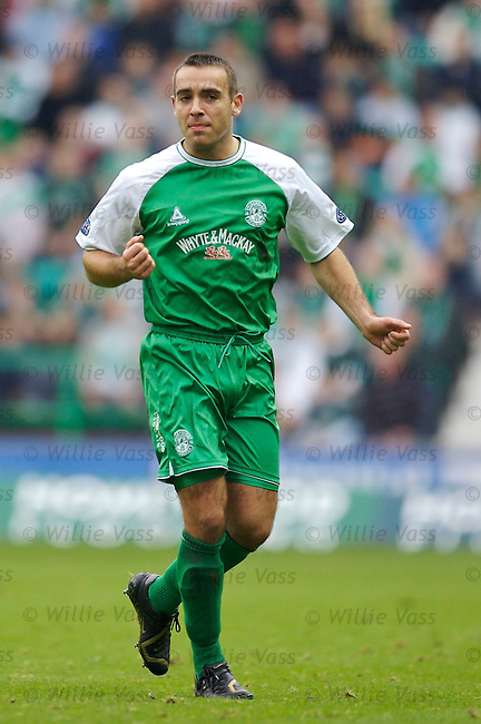 David Murphy, Hibs.stock season 2006-2007.pic willie vass