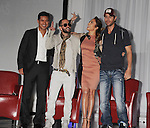 HOLLYWOOD, CA - APRIL 30: Mario Lopez, Wisin Y Yandel, Jennifer Lopez and Enrique Iglesisas announce their Summer Tour at Boulevard3 on April 30, 2012 in Hollywood, California.