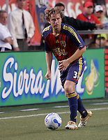 Real Salt Lake midfielder Carey Talley (3). Real Salt Lake defeated the Chicago Fire 3-1 at Rice Eccles Stadium, Salt Lake City, Utah, June 3, 2006.