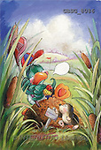Ron, CUTE ANIMALS, Quacker, paintings, green duck, golf(GBSG8086,#AC#) Enten, patos, illustrations, pinturas