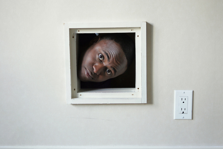 WAYNE BRADY stars in upcoming film, CROSSOVER, playing a former NBA agent who rules the street basketball scene in Detroit.  Regency Hotel, NYC.  Newsday/ARI MINTZ  8/21/2006.