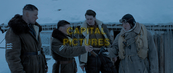 Stig Henrik Hoff, Florian Lukas, Lachlan Nieboer and Rupert Grint<br /> in Into the White (2012) <br /> *Filmstill - Editorial Use Only*<br /> CAP/NFS<br /> Image supplied by Capital Pictures