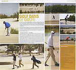 JOURNAL DU GOLF - SAND GOLF COMPETITION IN ABU DHABI - May 2009
