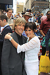 Anthony Sweeney poses with As The World Turns' Colleen Zenk on August 18, 2012 in Times Square, New York City, New York. (Photos by Sue Coflin/Max Photos)
