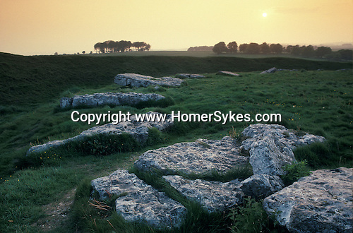 Arbor Low is a Stone Age Henge (stone circle) monument in Derbyshire, situated close to Hartington and Youlgrave. Peak District