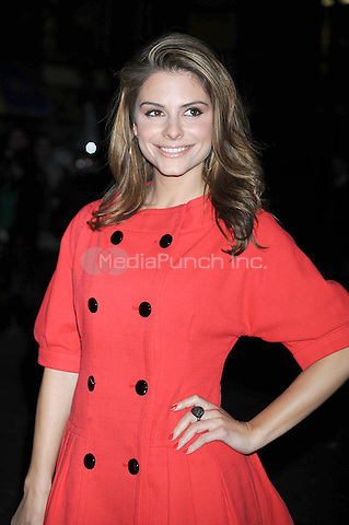 Maria Menounos at the New York Premiere of 'Valentino: The Last Emperor' at The Museum of Modern Art in The Roy and Niuta Titus I Theater. March 17, 2009 Credit: Dennis Van Tine/MediaPunch