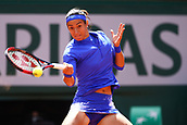 7th June 2017, Roland Garros, Paris, France; French Open tennis championships;  CAROLINE GARCIA (FRA) loses to KAROLINA PLISKOVA (CZE)  during day eleven match of the 2017 French Open at Stade Roland-Garros in Paris, France.