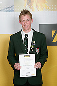 Boys Cricket winner Tony Manning. ASB College Sport Young Sportperson of the Year Awards 2007 held at Eden Park on November 15th, 2007.