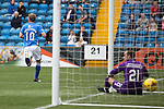 Kilmarnock v St Johnstone...19.09.15  SPFL Rugby Park, Kilmarnock<br /> David Wotherspoon puts saints 1-0 up<br /> Picture by Graeme Hart.<br /> Copyright Perthshire Picture Agency<br /> Tel: 01738 623350  Mobile: 07990 594431