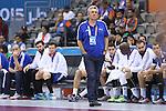 handball wordl cup match between France vs Argentina. onesta  . 2015/01/26. Doha. Qatar. Alberto de Isidro.Photocall 3000