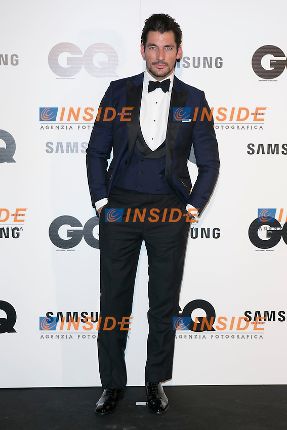 "David Gandy attends the ""GQ AWARDS"" at Palace Hotel in Madrid, Spain. November 3, 2014. (ALTERPHOTOS/Carlos Dafonte/Insidefoto)"