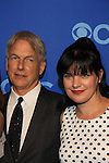 NCIS Cast - Mark Harmon - Pauley Perrette at the CBS Upfront on May 15, 2013 at Lincoln Center, New York City, New York. (Photo by Sue Coflin/Max Photos)