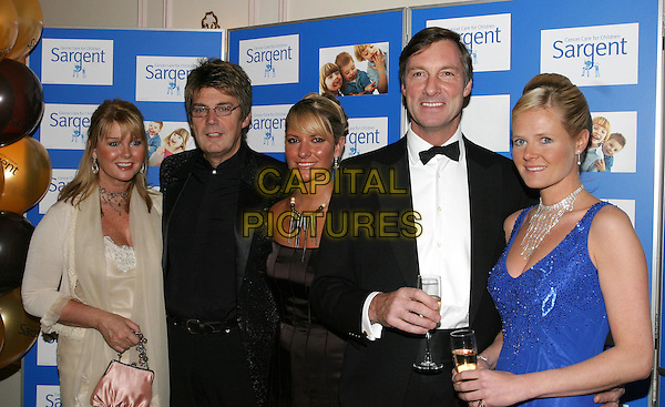 MIKE REID, ALEX BEST, LORD CHARLES BROCKETT.The Chocolate Ball in aid of Sargent Cancer Care for Children at the Cafe Royal, Piccadilly.11 March 2004.www.capitalpictures.com.sales@capitalpictures.com.© Capital Pictures.