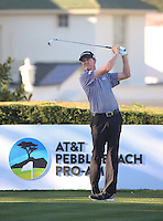 160214 Jimmy Walker during Sunday's Final Round of The AT&T National Pro Am at The Pebble Beach Golf Links in Carmel, California. (photo credit : kenneth e. dennis/kendennisphoto.com)