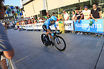 Miguel Angel Lopez (COL) Astana Pro Team during Stage 1 of the La Vuelta 2018, an individual time trial of 8km running around Malaga city centre, Spain. 25th August 2018.<br /> Picture: Ann Clarke | Cyclefile<br /> <br /> <br /> All photos usage must carry mandatory copyright credit (© Cyclefile | Ann Clarke)