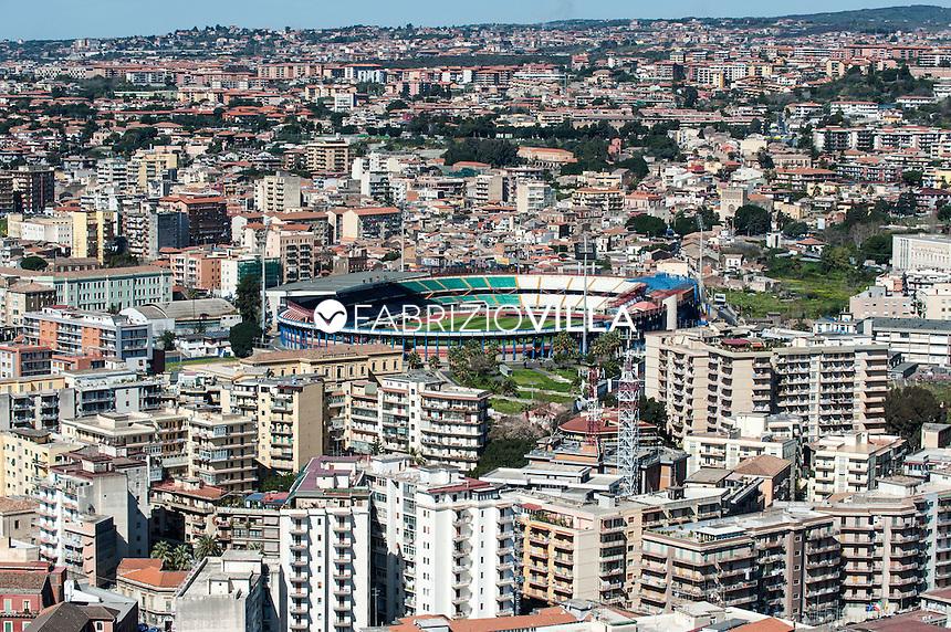 Catania, lo stadio Massimino